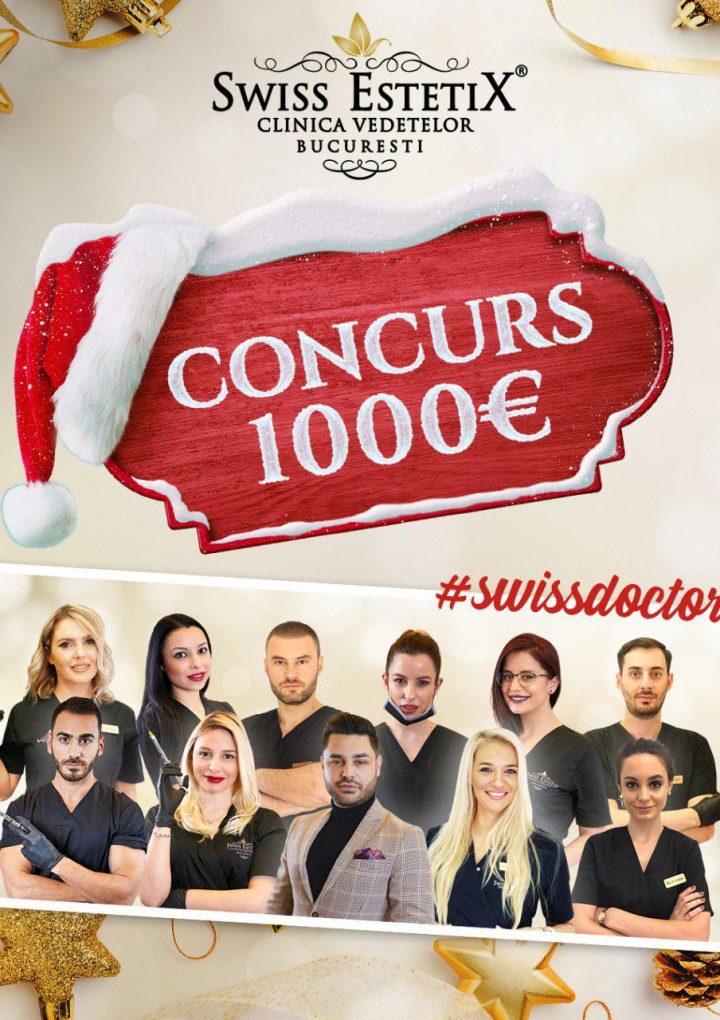 Swiss EstetiX ti-a pregatit un concurs de Craciun! Proceduri in valoare de 1000 de euro pentru 5 norocoase!