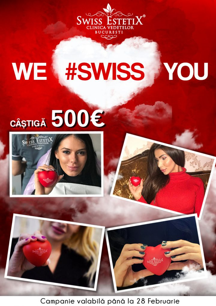 "Regulament campanie ""We #swiss you!"""
